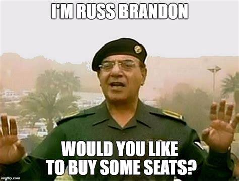 Brandon Meme - trust baghdad bob imgflip