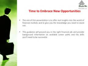 Mba Postings by Time To Embrace New Opportunities Mba Finance