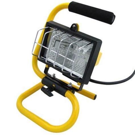 portable outdoor construction lights 150 watt halogen portable bright work light construction