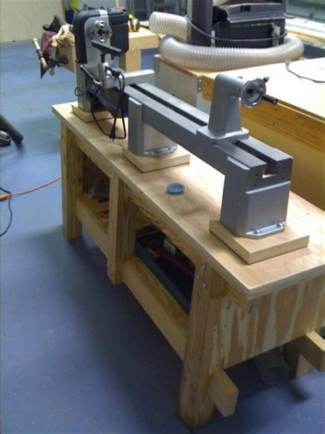 wood lathe bench lathe bench by richclark lumberjocks com woodworking