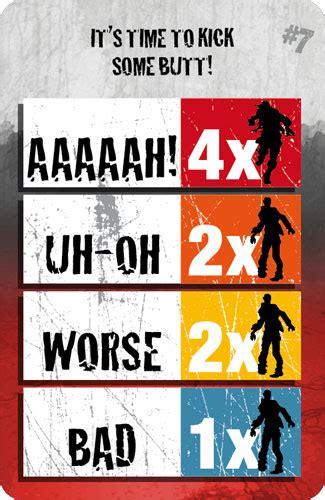zombicide black plague card template cartas alerta zombi zombicide