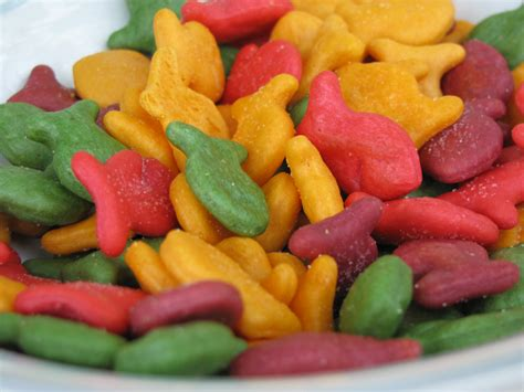 colored goldfish multi colored goldfish crackers my business