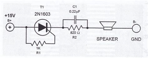 signal generator with thyristor