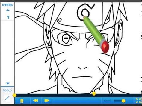 tutorial menggambar naruto sage mode how to draw naruto in sage mode drawing tutorial video