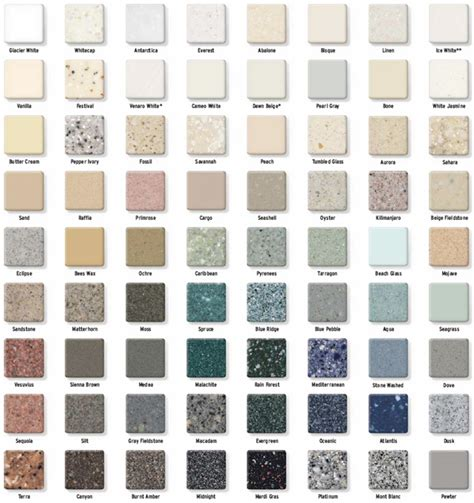 corian colors corian countertop color chart pictures to pin on