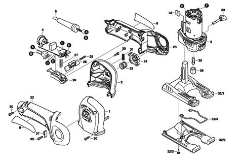 dremel parts diagram buy dremel 6800 f013680000 replacement tool parts