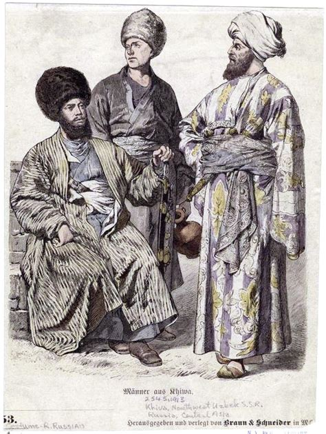 uzbek men uzbek boys dating guys from uzbekistan file costumes of uzbek men jpg wikimedia commons