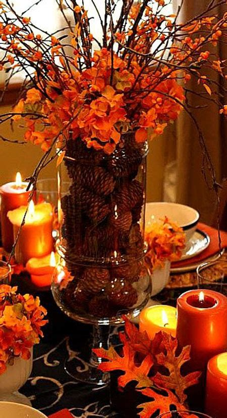 fall centerpieces 20 welcoming fall table decoration ideas