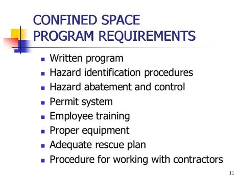 48 Best Of Confined Space Rescue Plan Flow Chart Flowchart Confined Space Policy Template