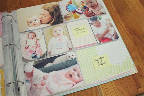 baby photo album caylin s baby album part 3 one happy