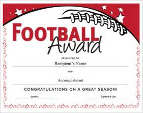 football certificate templates free football certificate template 7 documents in