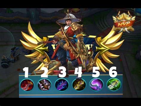 wallpaper yi sun shin mobile legends perfeito yi sun shin game play mvp build