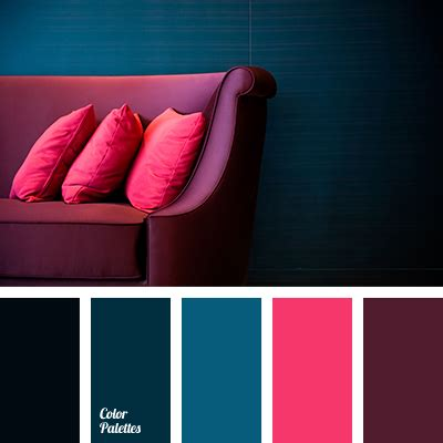 contrast color for pink bright crimson color palette ideas