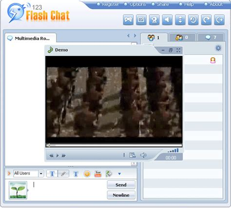 Vietfun Chat Room by Add A Room User Manual Of 123 Flash Chat Server Software