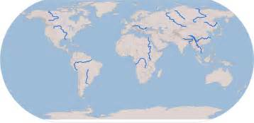 blank world map with rivers