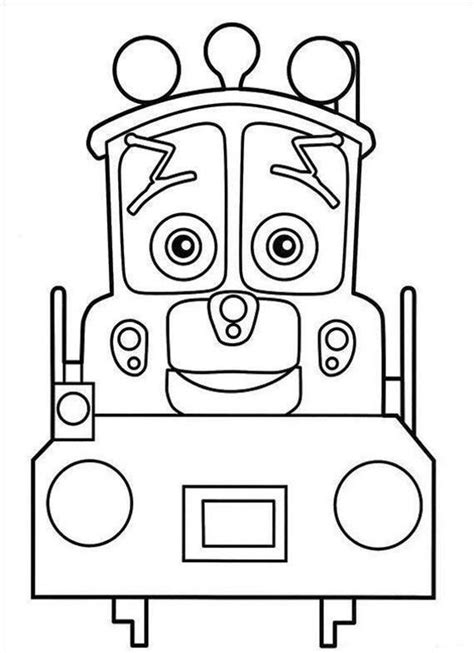 free printable chuggington coloring pages for kids
