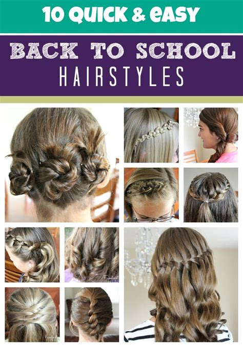 back to school hairstyles college hairstyles for school girls the xerxes