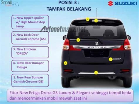 Tv Ertiga Dreza 2016 suzuki ertiga dreza brochure leaked vehicle a top end model