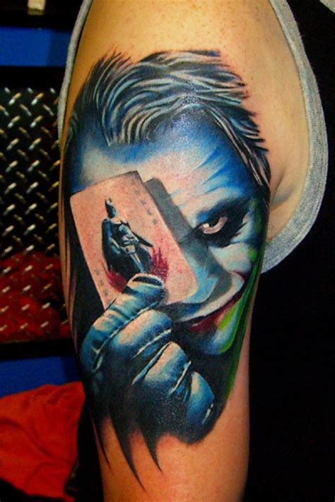 joker tattoo dragon animated tattoos and designs page 40