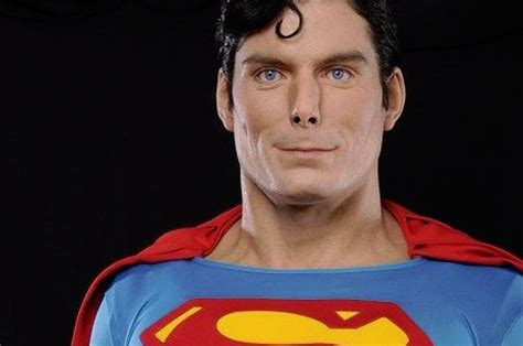 christopher reeve krypto statue the superman super site june 6 2011 life size superman