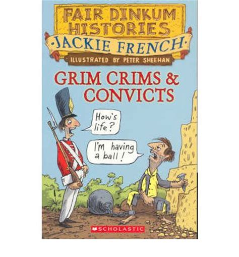 the crims books grim crims and convicts jackie 9781865048710