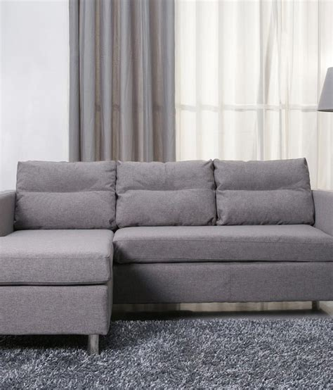 l shape sofa price home world aliza l shape sofa set available at snapdeal