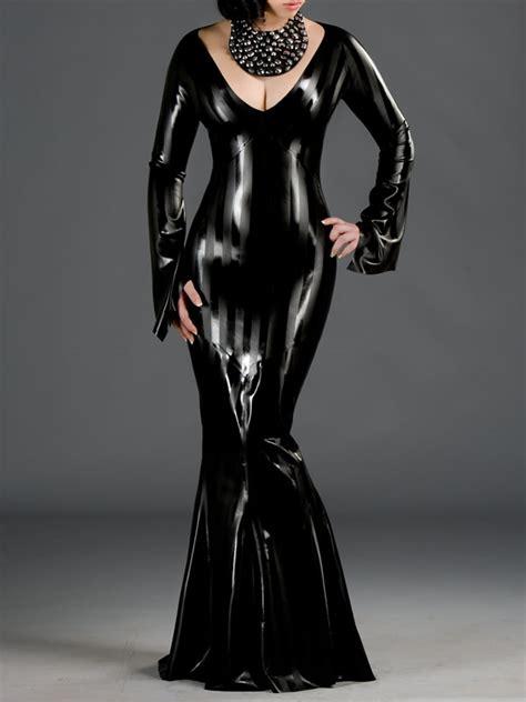 Nzns Black Dress dr 131str sriped style dress polymorphe