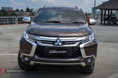 All New Pajero Sport Tanduk Depan Mobil Front Bumper Guard Activo dealer mitsubishi all pajero sport