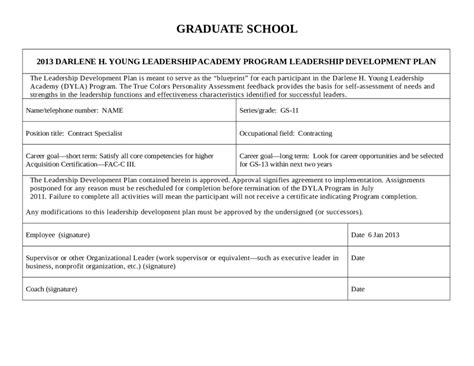 2018 Personal Development Plan Fillable Printable Pdf Forms Handypdf Leadership Development Plan Template