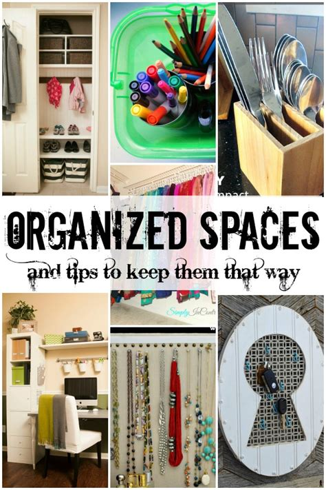 organized spaces remodelaholic 7 organization ideas and tips link party