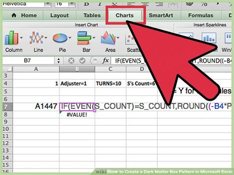 how to create matter how to create a matter box pattern in microsoft excel