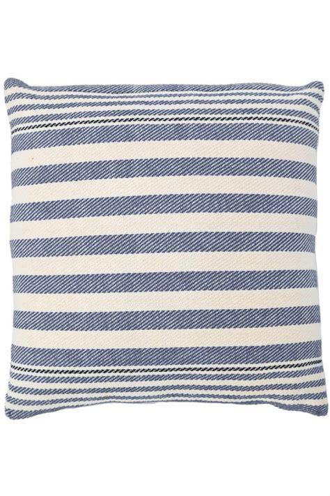 dash and albert rug company rugby stripe denim woven cotton pillow dash albert rug company marjay rug