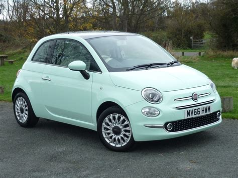 Fiat Green by Used Smooth Mint Green Fiat 500 For Sale Cheshire