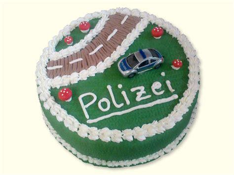 polizei kuchen torten f 252 r andere anl 228 sse mit liebe gebacken