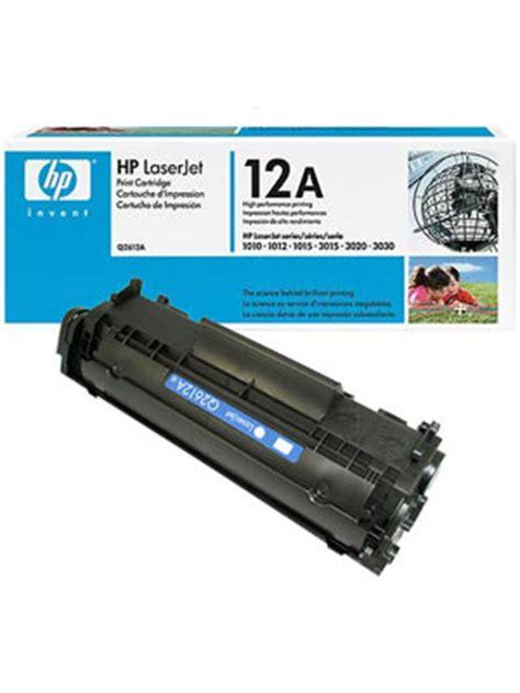 Toner Hp 12a hp 12a black toner cartridge mcmaster cus store
