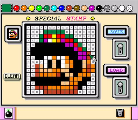 mario painting mario paint screenshots gamefabrique