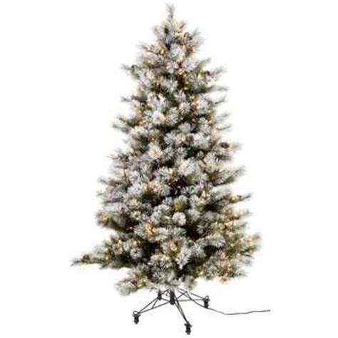 hobby lobby white flocked christmas tree flocked fast shape sonoma pre lit tree 7 1 2