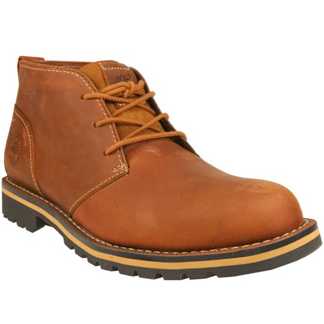 mens brown leather timberland boots timberland grantly chukka boots shoes winter leather s