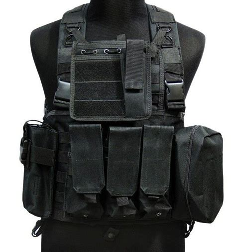 tactical assault gear vest usmc molle assault vest black tactical vest free shipping