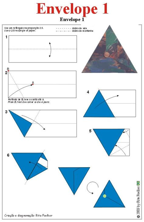 printable origami envelope instructions origami diagram envelope1 triangular envelope