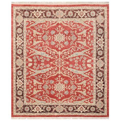 vegetable dye rugs afghan knotted vegetable dye ziegler wool rug 8 2 x