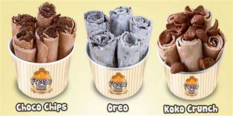 cara membuat ice cream rolls thailand distributor ice cream roll khas thailand