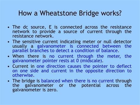 wheatstone bridge how it works wheatstone bridge how does it work 28 images how does a wheatstone bridge work ppt