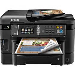 all in one color printer epson workforce wf 3640 wireless color all in one