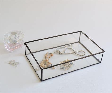 Wedding Box Display by Glass Box Glass Display Box Glass Jewelry Box Wedding Display