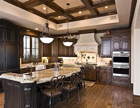 kitchen remodeling and design awesome rustic kitchen remodeling applying wooden flooring