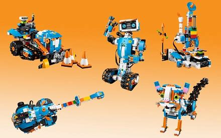 Lego 17101 Boost 5 In 1 bol lego boost 17101 lego speelgoed