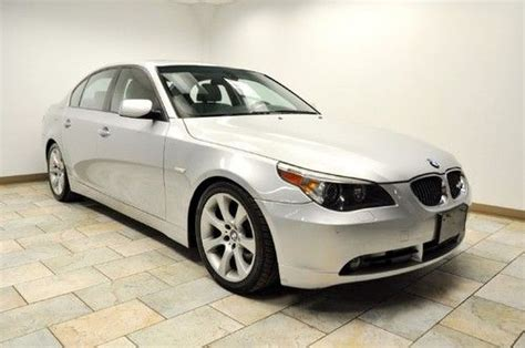 car owners manuals for sale 2005 bmw 545 transmission control buy used 2005 bmw 545i sport sedan 6speed manual navigation wow lqqk in paterson new jersey