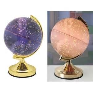 lloytron constellation world globe earth touch light