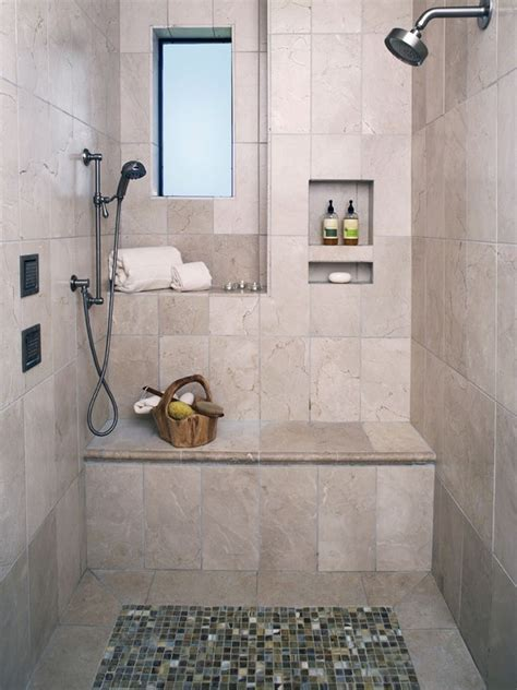 mediterranean bathroom ideas mediterranean shower bench bathroom design ideas pictures